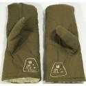Militärische Winter-Handschuhe 100% Bauwolle echtem Schaffell