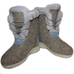 Original Russische Filzstiefel Walenki (Modell Courchevel)